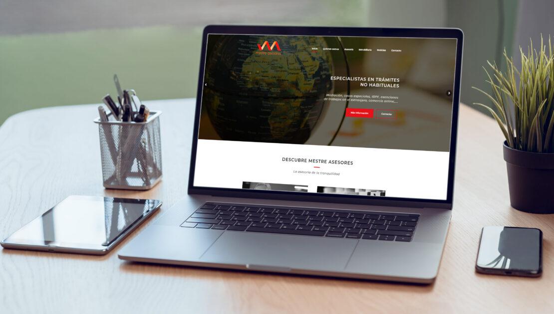 Mestre Asesores - Estrenamos web