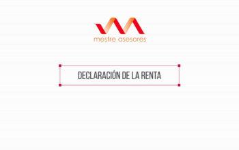 Declaración de la Renta - Mestre Asesores en Burgos - Asesoría en Burgos